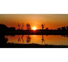 Outback Reflections #2, Kakadu National Park Photographic Print