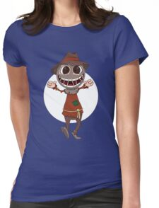 Scarecrow surprises everyone Womens Fitted T-Shirt