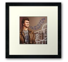 August's Roller coaster Framed Print