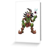 Skull Kid Greeting Card
