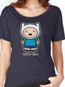 Hello Adventure! Women's Relaxed Fit T-Shirt