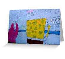 SpongeBob Learns Korean Greeting Card
