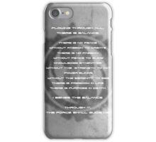 The Gray Jedi Code  iPhone Case/Skin