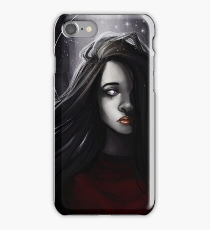 Silver tears iPhone Case/Skin
