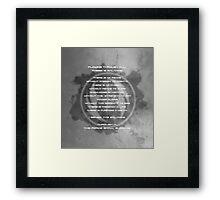 The Gray Jedi Code  Framed Print