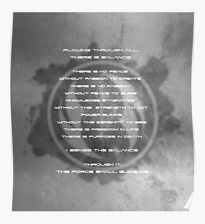 The Gray Jedi Code  Poster