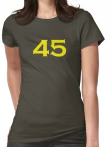 45 - Commando Womens Fitted T-Shirt