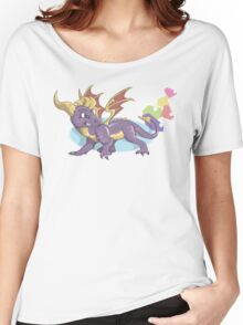 Spyro the Dragon with gems Women's Relaxed Fit T-Shirt