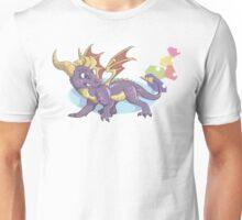 Spyro the Dragon with gems Unisex T-Shirt