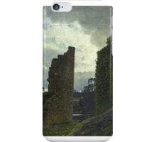 Walking between ruins iPhone Case/Skin