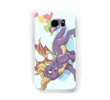 Spyro the Dragon with gems Samsung Galaxy Case/Skin
