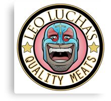 Leo Lucha's Quality Meats Canvas Print
