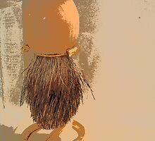 Pop Art Shaving Brush by jafabrit
