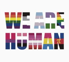 We Are Human Kids Tee