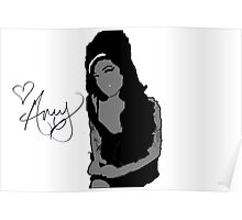 Amy Whinehouse Poster