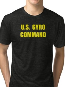 U.S. Gyro Command - for gyrocopter pilots Tri-blend T-Shirt