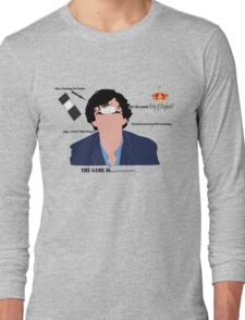 Sherlock Drunk Long Sleeve T-Shirt