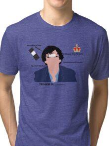 Sherlock Drunk Tri-blend T-Shirt