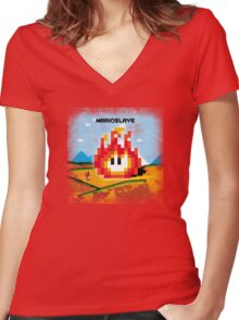 Marioslave Women's Fitted V-Neck T-Shirt