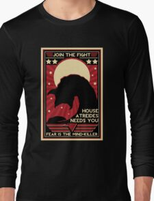 Fear is the Mind-Killer Long Sleeve T-Shirt