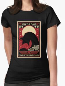 Fear is the Mind-Killer Womens Fitted T-Shirt