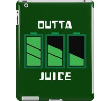 Outta juice iPad Case/Skin