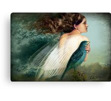 Like a Bird Canvas Print