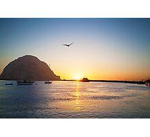 Beautiful Bay Sunset Photographic Print