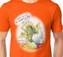 Pin-up Cthulhu Unisex T-Shirt