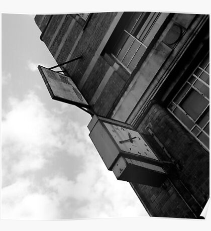 Out Of Time, Bradford Street, Birmingham Poster