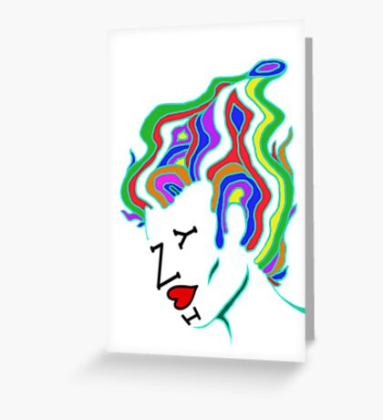 Milton Glaser Inspired (I <3 NY) Greeting Card