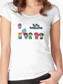 Chibi Hakusho!  Women's Fitted Scoop T-Shirt