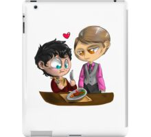 Chibi Hannibal - Cannibalism in two iPad Case/Skin