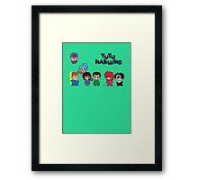 Chibi Hakusho!  Framed Print