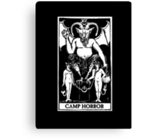 Camp Horror Tarot  Canvas Print