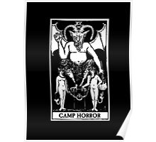 Camp Horror Tarot  Poster