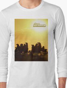 Sunset around penguins T-Shirt