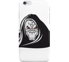 Death hooded evil grusel iPhone Case/Skin