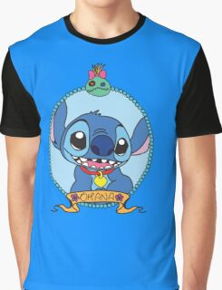 OHANA means family. Graphic T-Shirt