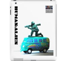 Peace,Love & War (Freedom Fighter) iPad Case/Skin