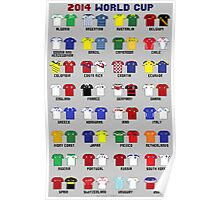 8-Bit World Cup 2014 Poster
