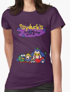 Psyduck's Modern Life v2 Womens Fitted T-Shirt