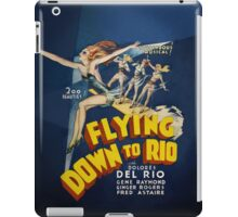 Flying Down to Rio iPad Case/Skin