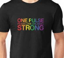 One Pulse, Peace Love Orlando Strong Unisex T-Shirt