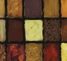Palette of Spices Sticker
