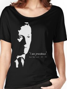 HP Lovecraft - I am Providence Women's Relaxed Fit T-Shirt