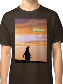 Penguin backlight in Peninsula Valdes - Patagonia Argentina Classic T-Shirt