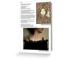 My Poem Ocean Dreaming Published in Pink Panther Magazine! Greeting Card