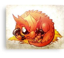 Smaug the Terrible Canvas Print