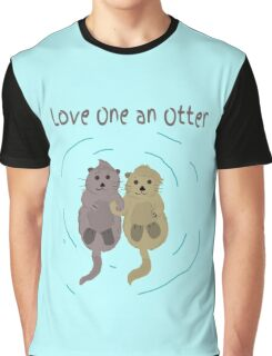 Love One An Otter Graphic T-Shirt